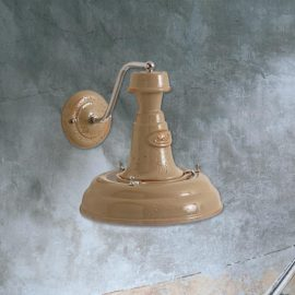 Beige Wall Light,simplistic ceramic beige wall light