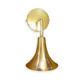 Bespoke Brass Trumpet Wall Light