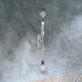 Silver Wall Light