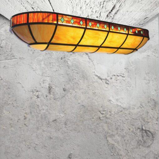 Bespoke Oval Tiffany Feature Light