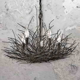 Bird Nest Light Fixture
