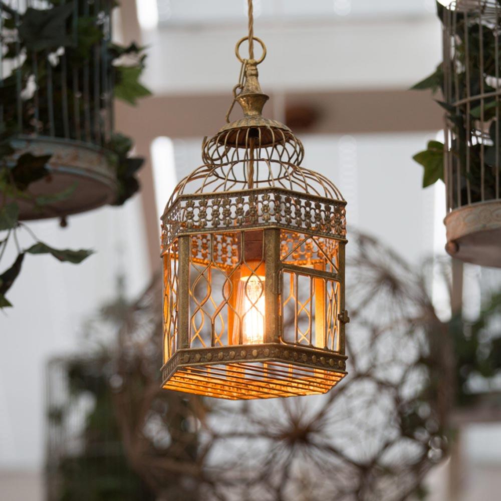 Birdcage pendant light clb 00530 e2 contract lighting bespoke uk birdcage pendant light aloadofball Choice Image