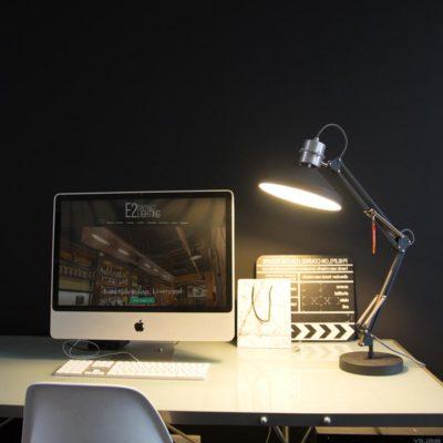 Black Adjustable Desk Lamp