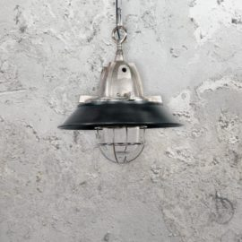 Black Bulkhead Pendant Light