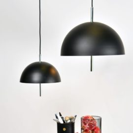 Black Chrome Contemporary Pendant Light