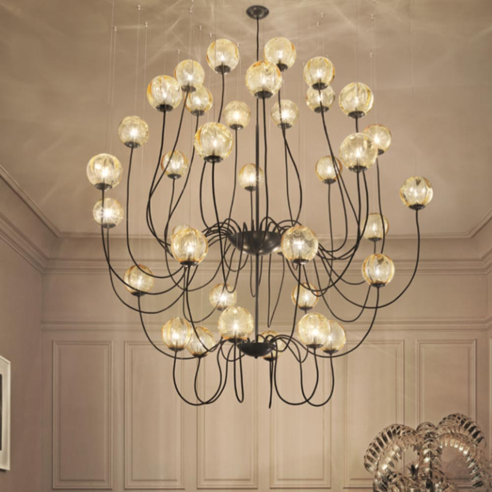 Designer Contemporary Chandelier Clb 00609 E2 Contract