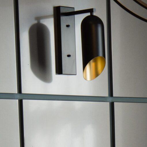 Black & Gold Inner Wall Light