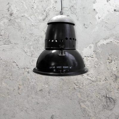Black Industrial Pendant