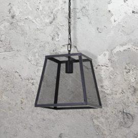 Black Mesh Pendant Light