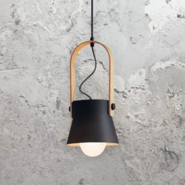 Black Scandinavian Pendant Light
