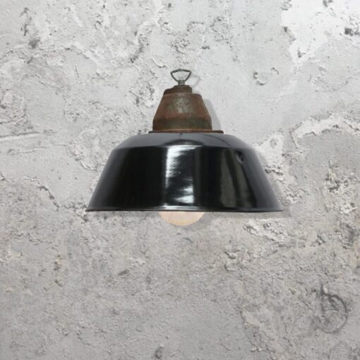 Black Shade Pendant Light
