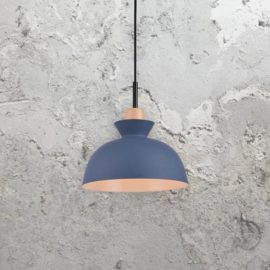 Blue Scandinavian Pendant Light