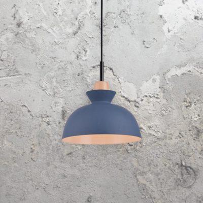 Blue Scandinavian Pendant Light