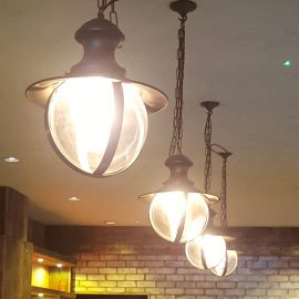 Botanist Glass Bar Pendant Light