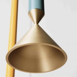 Brass Modern Designer Pendant Light