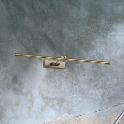 Brass Ultra Slim LED Picture Light