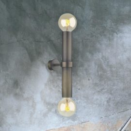 Antique Brass Up Down Wall Light