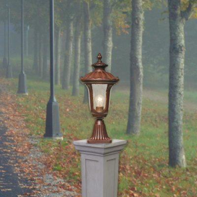 Bronze Pedestal Light