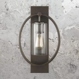 Bronze Ring Wall Light