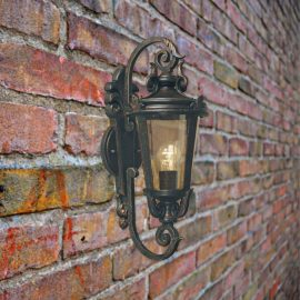 Bronze Wall Lantern Light