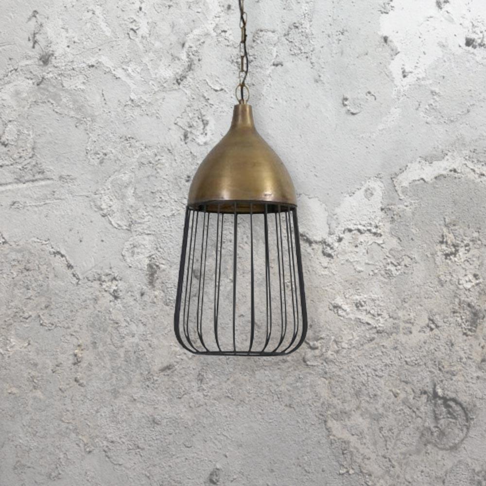 Brushed Gold Pendant Light CL 32940 1