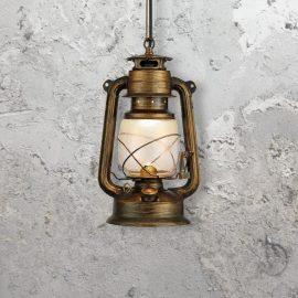 Miners Lamp Pendant