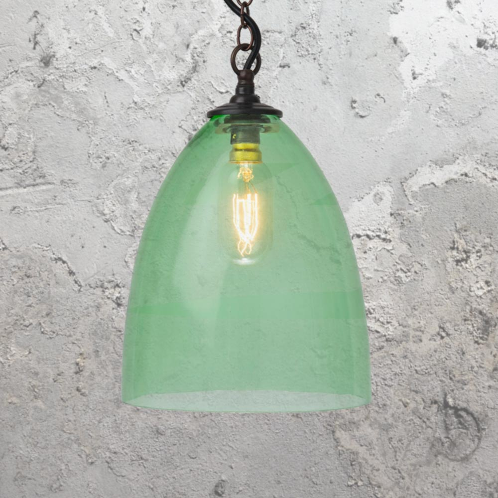Coloured glass pendant lights cl 26910 e2 contract lighting uk coloured glass pendant lights aloadofball Image collections