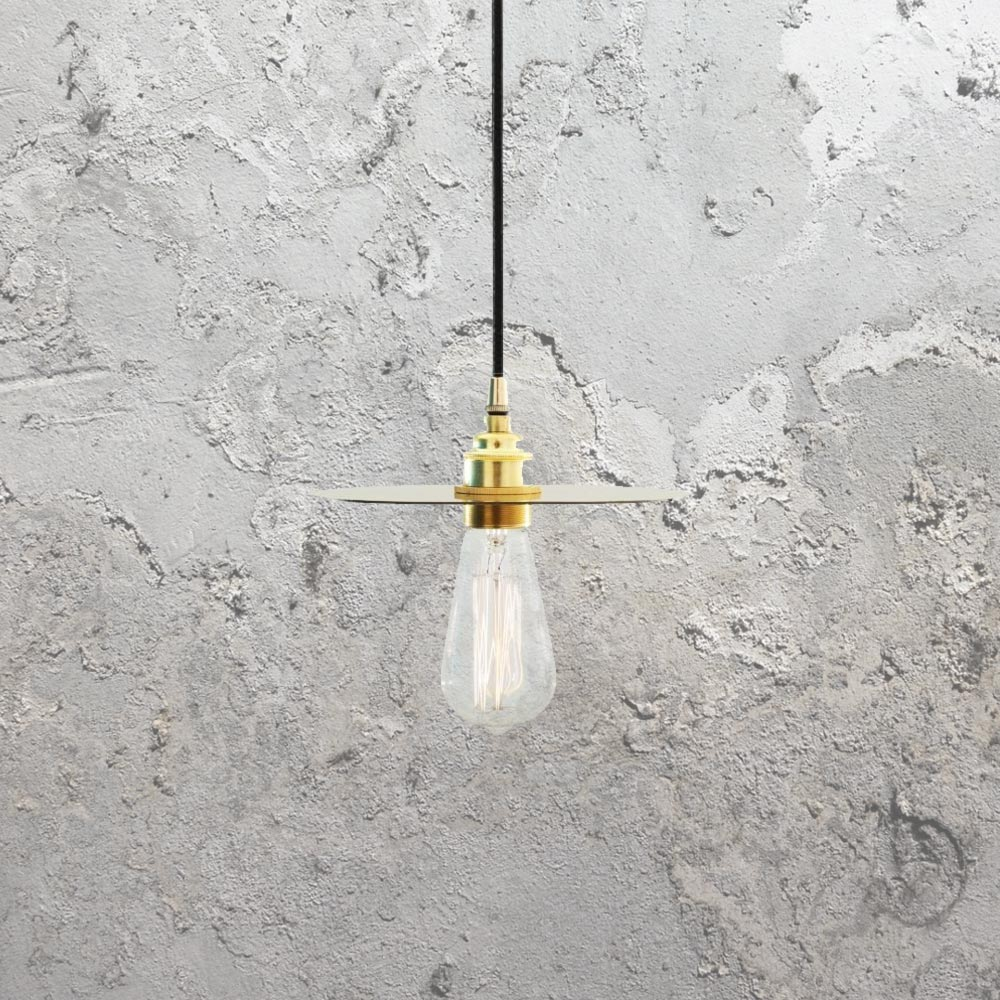E2 contract lighting products cl 32281 pendant lighting uk polished brass vintage minimal pendant aloadofball Image collections