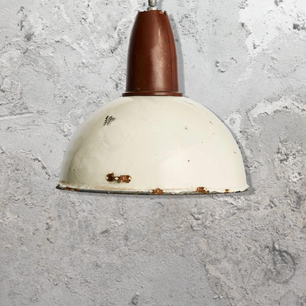 Rustic Enamel Pendant