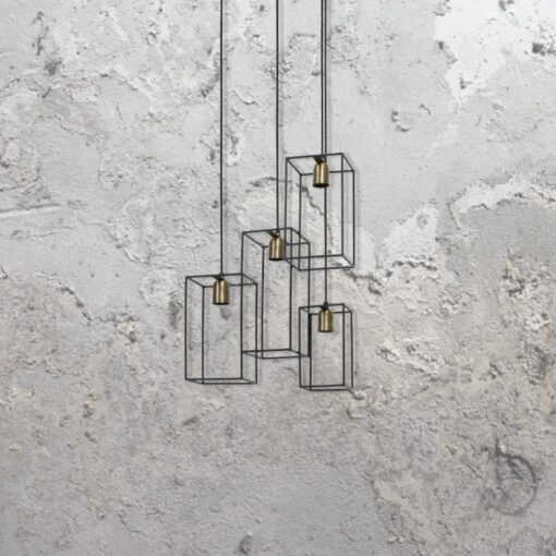 Cage Cluster Pendant Lights