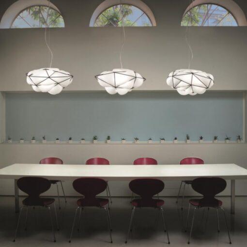 Cage Glass Pendant Light