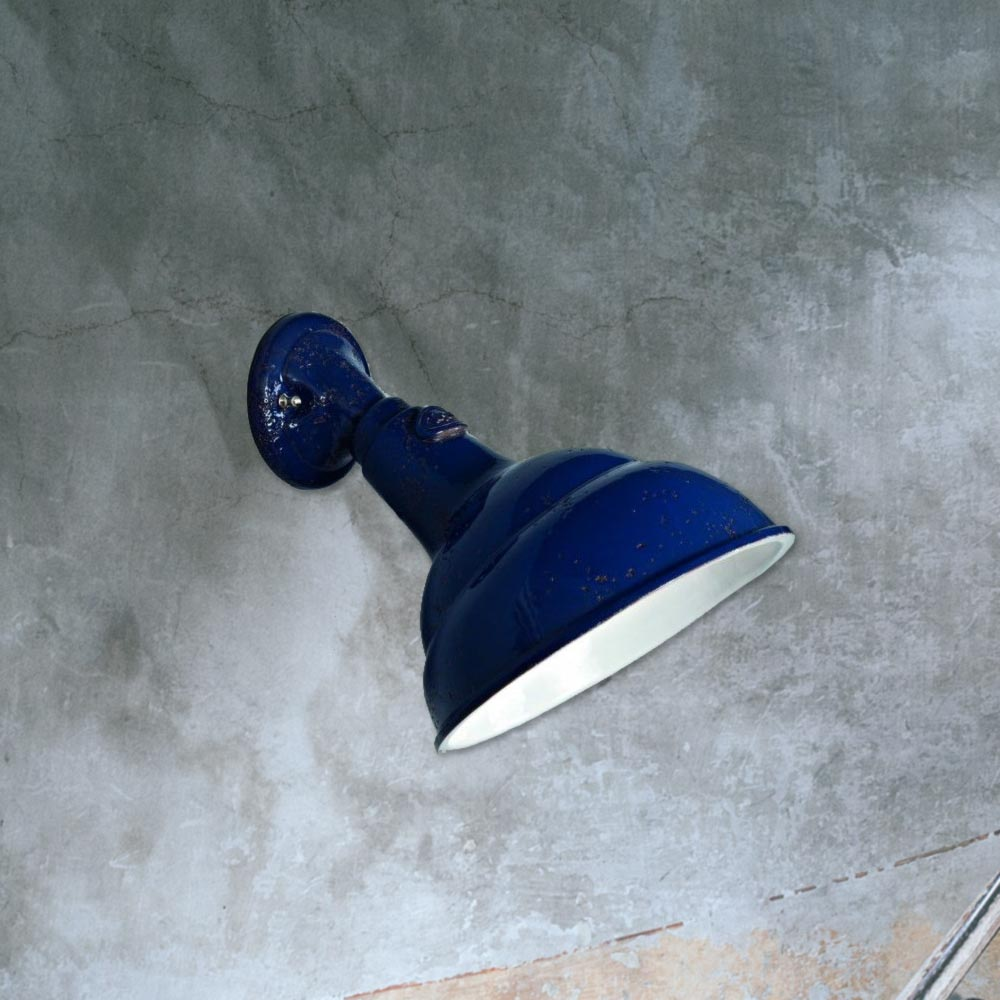 Ceramic wall light cl 31739 products e2 contract lighting uk blue ceramic wall lightfrench ceramic wall lights aloadofball Images