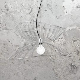 Chrome Frame Pendant Light
