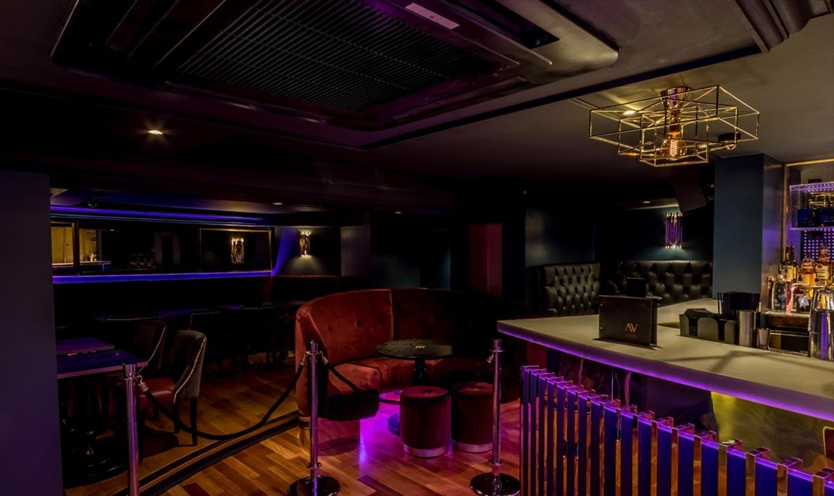 Club Arvina, Hale