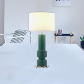 Contemporary Coloured Glass Table Lamp
