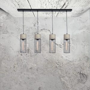 Concrete 4 Light Pendant CL-32512