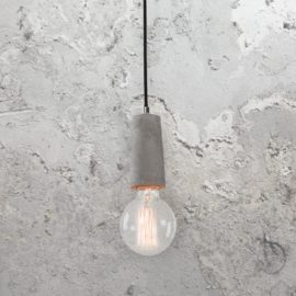 Concrete Lamp Holder Pendant Light