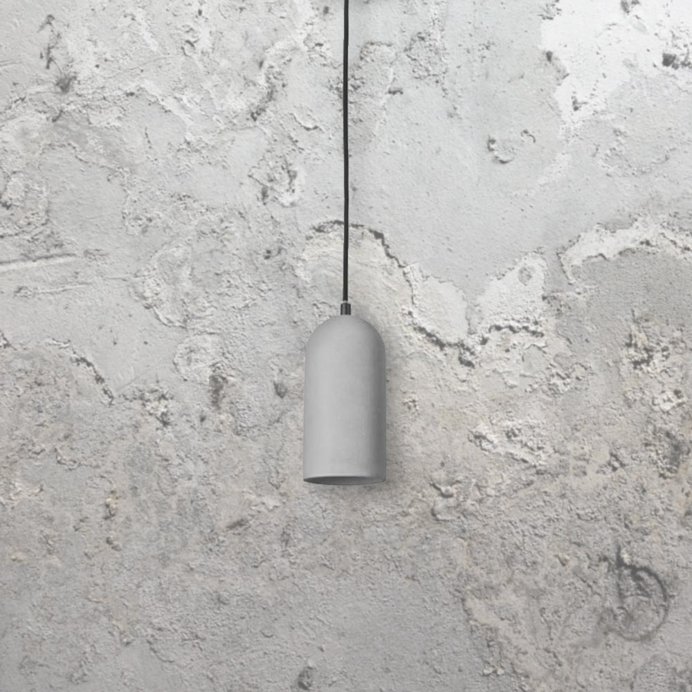 Concrete Light Fitting Cl 33426 E2 Contract Lighting