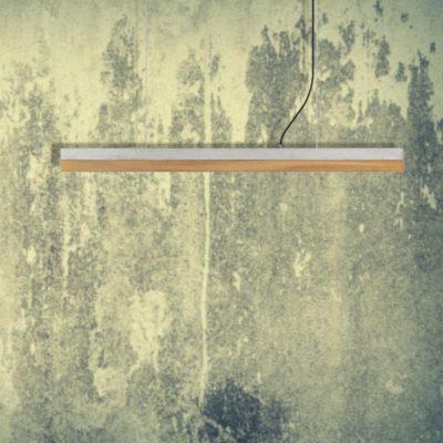 Concrete Wood Commercial Lighting