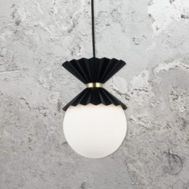 Contemporary Opal Pendant Light