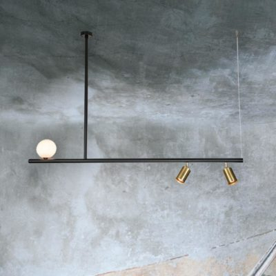 Contemporary Pendant Spotlight Bar