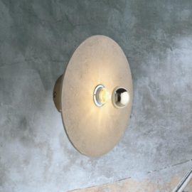 Contemporary Round Ceramic Wall Light