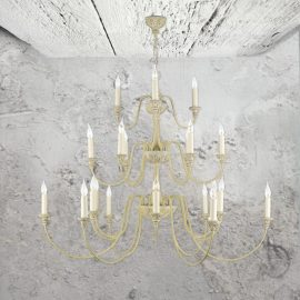 Cream 21 Light Chandelier