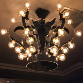 Crown Pendant Light