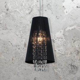 Crystals Fabric Pendant Light