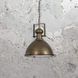 Dark Bronze Industrial Pendant Light