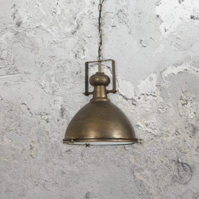 Dark Bronze Industrial Pendant Light