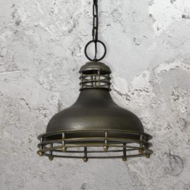 Dark Bronze Vintage Pendant Light