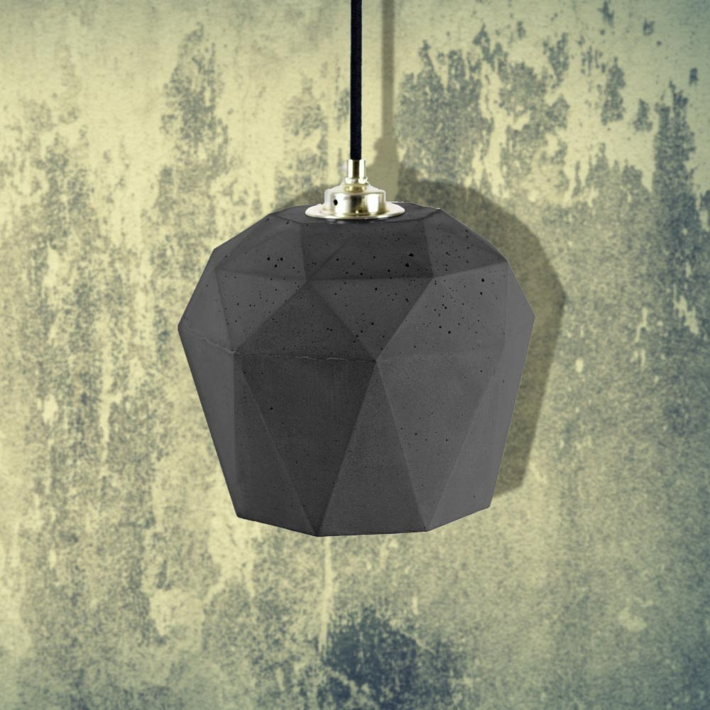 Concrete Lights, Geometric Pendant Light,Concrete Lighting