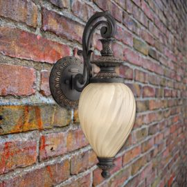 Decorative Outdoor Glass Wall Light